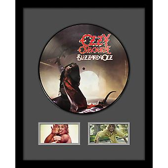Ozzy Osbourne - Blizzard of Ozz - Picture Disc LP Album Custom Framed