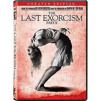 Laatste exorcisme Pt. 2 [DVD] USA import