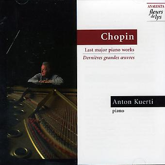 F. Chopin - Chopin: Last Major Piano Works [CD] USA import