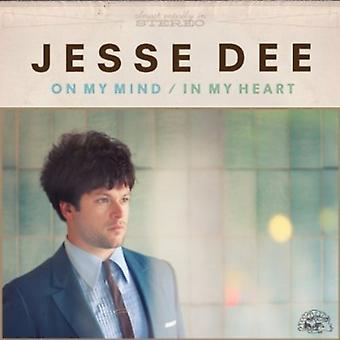 Jesse Dee - på mit sind/in My Heart [CD] USA import
