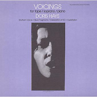 Sorrel Hays - Voicings for Tape/Soprano/Piano [CD] USA import