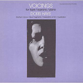 Skovsyre Hays - Voicings til Tape/sopran/klaver [CD] USA import