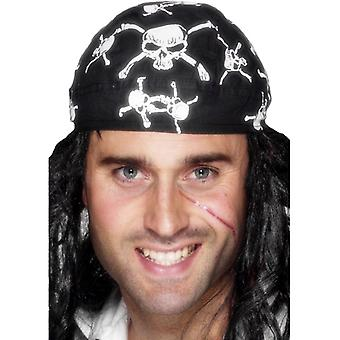 Pirate scarf Hat pirate cloth pirate pirate skull