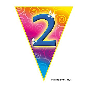 Party favors  Flagline '2' 5m