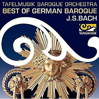 Bach, J.S. / Tafelmusik Barokorkester / Taurins - bedste af tysk barok - Bach [CD] USA import