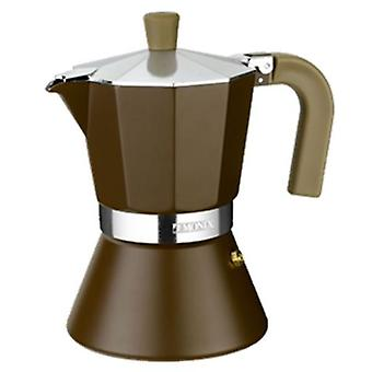 Monix Aluminum Coffee  Cream Induction  6 cups. suitable Induction
