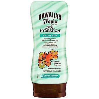 Hawaiian Tropic After Sun Moisturizing Silk 180 ml (Cosmetics , Body  , Sun protection)