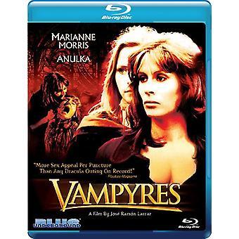 Vampyres [BLU-RAY] USA importerer