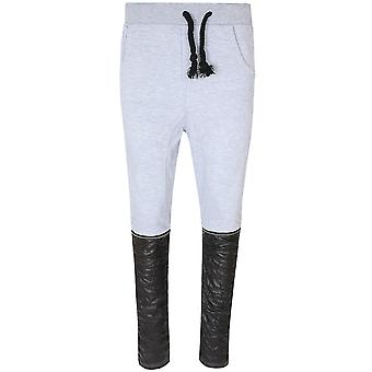 Tazzio Fashion Sweatpants Birds Hose Herren Jogginghose Grau P-19