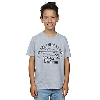 DC Comics Boys Flash Shoes T-Shirt