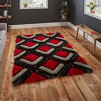 Rugs -Noble House - 8199 Black / Red
