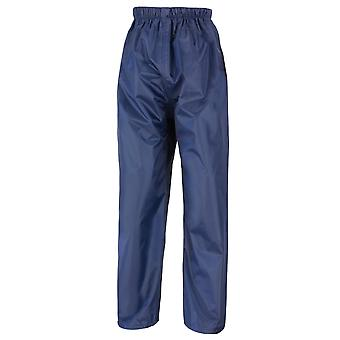 Result Core Kids/Childrens Unisex Stormdri Rain Over Trouser / Pants