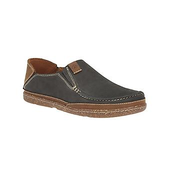 Clarks Trapell Form - Navy Nubuck Mens Shoes Various