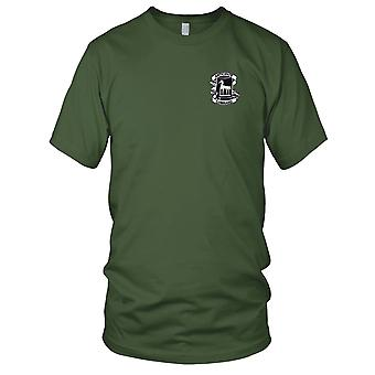 US Army - 18th Psychological Operations Battalion Embroidered Patch - Mens T Shirt