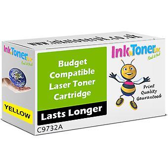 Preis-Leistungs kompatibel HP 645A gelbe Tonerkassette (C9732A)