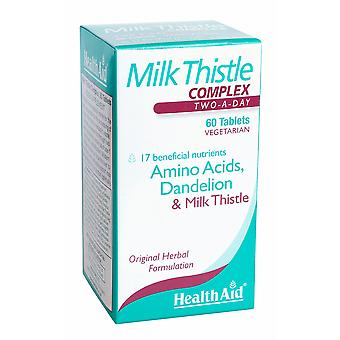 Health Aid Milk Thistle Complex, 60 Tablets