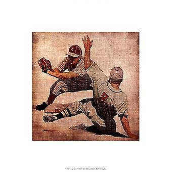 Vintage Sports VII Poster Print by John Butler (13 x 19)
