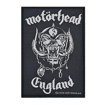 Motorhead England Woven Patch