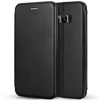 S8 de Samsung Galaxy Plus complemento monedero - negro