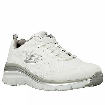 Skechers fashion fit chic 12703 WHT women's fitness shoes