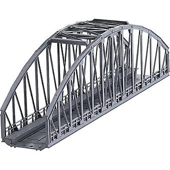H0 Arched bridge 1-rail H0 Märklin C (incl. track bed) (L x W x