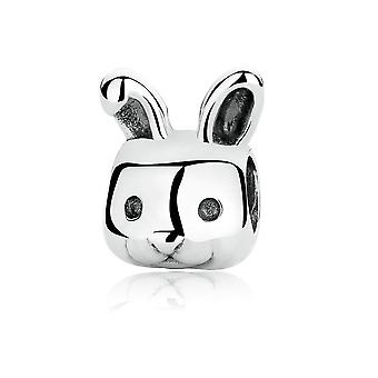 Charms Bead Lapin en Argent 925