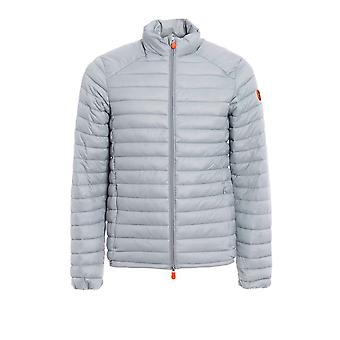 Save the duck men's D3243MGIGA600013 grey polyamide Quilted Jacket