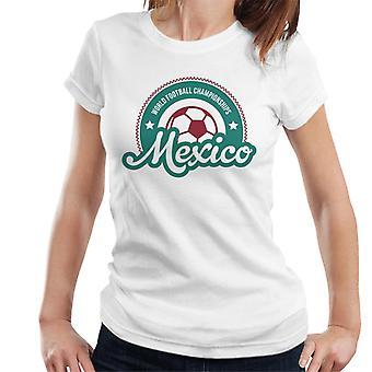 Mexico Sunrise World Football Championship 2018 Women's T-Shirt
