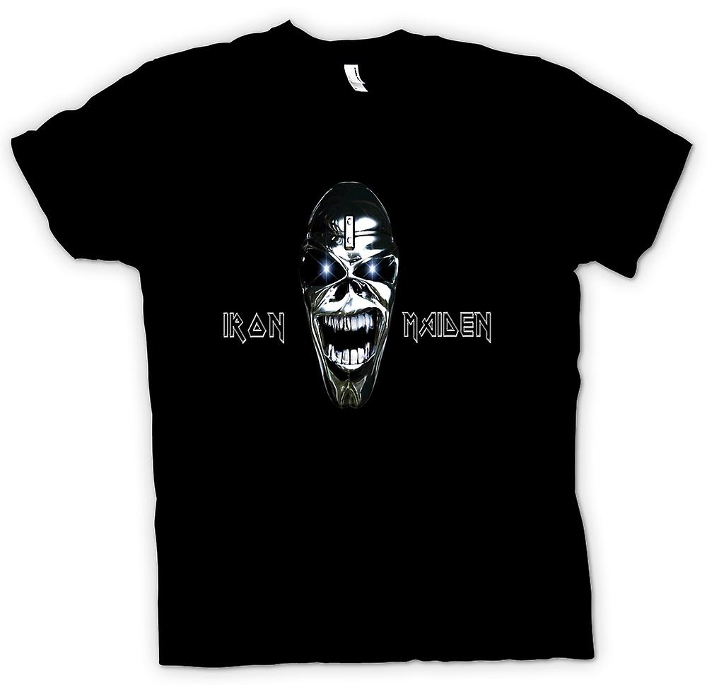 Mens T-shirt - Iron Maiden - Eddie Logo