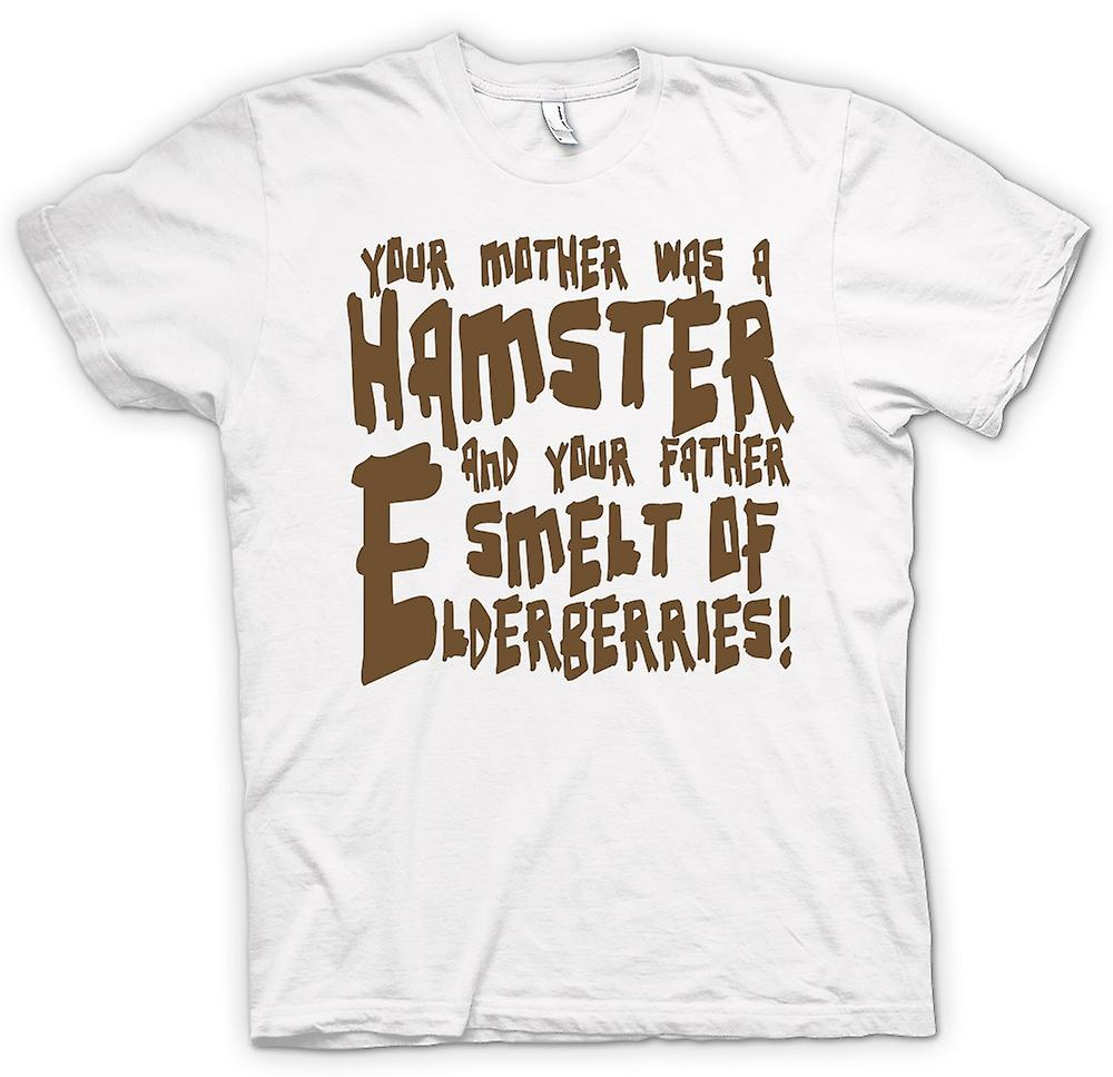 Womens T-shirt - je moeder was een hamster - grappige Quote