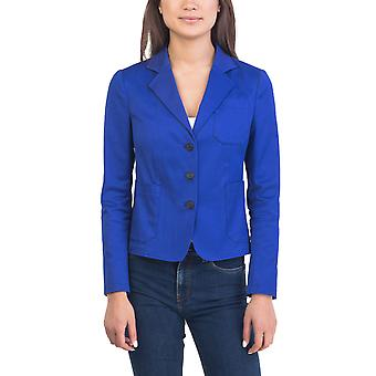 Prada Women's Cotton Jacket Blue
