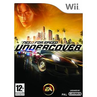 Behovet For Speed Undercover (Wii)