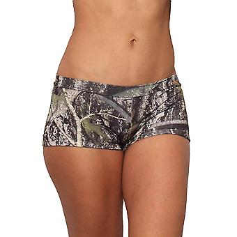 Women's Green True Timber Hot Shorts Only Bikini Swimwear Made in the USA
