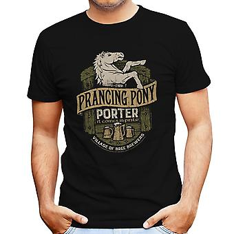 Lord Of The Rings steigerende Pony Porter mannen T-Shirt