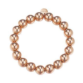 ESPRIT ladies bracelet stainless steel Rosé bold spheres ESBR11655C160