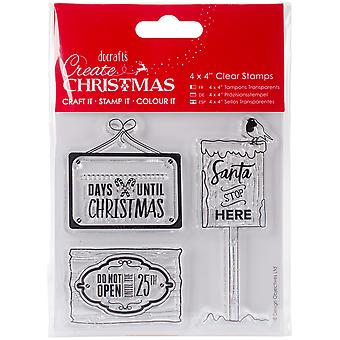 Papermania Create Christmas Clear Stamps 4