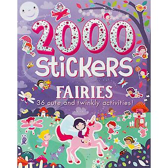 Parragon-2000 Stickers Fairies