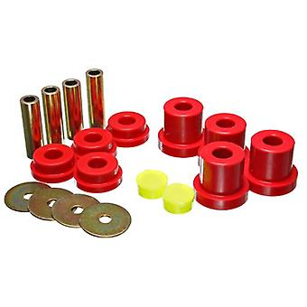 Energy Suspension 8.4108R Rear Sub Frame Bushing Set for TC