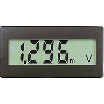 Digital rack-mount meter VOLTCRAFT DVM330G 0 - 199.9 mV (can be extended by simply adding resistors)
