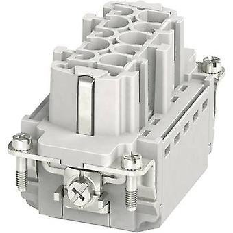 Socket inset HC-B 1407729 Phoenix Contact 10 + PE Plug & Clip 1 pc(s)