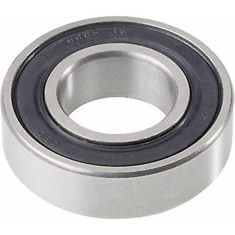Deep groove ball bearing UBC Bearing 61802 2Z Bore diameter 15 mm Outside diameter 24 mm Rotational speed (max.) 28000 rpm