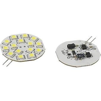 Renkforce LED (monokrom) G4 penn 2.8 W = 15 W Cool white (Ø x L) 44.3 mm x 54.3 mm 1 eller flere PCer
