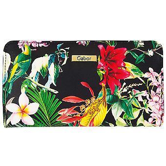 Gabor tropica zipper purse wallet 7640