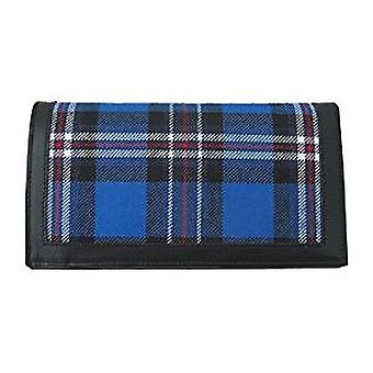 Mens Wallet Card Holder with Glasgow Rangers Tartan