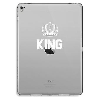 iPad Pro 9,7 inch Transparent Case (Soft) - King black