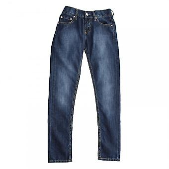 Levis juniorer tilspidset regelmæssig Fit Denim Jeans (Navy)