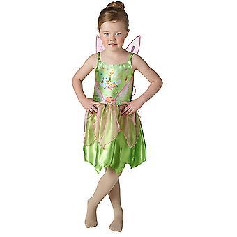 Tinker Bell Classic Kostüm Kleid für Kinder Kinderkostüm Original