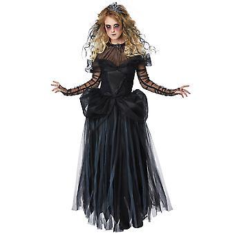 Dark gothique royale fantôme Halloween romanesque victorienne Womens Costume