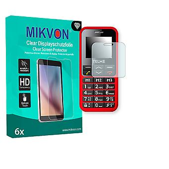 Emporia TELME C151 Screen Protector - Mikvon Clear (Retail Package with accessories)