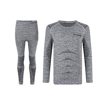 Dare 2 b Kids Zonal Base Layer Set - Charcoal